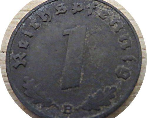 1 Reichspfennig B 1942 Reichspfennig Oesterreich drittes Reich