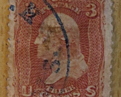 3 cents 1867 George Washington USA Briefmarken US stamps