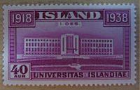 ISLAND Briefmarken  1938 Iceland stamps