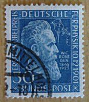 30 Pfennig 1951 Wilhelm Roentgen Deutschland Briefmarken