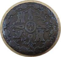 8 Meravedi 1826 Spanien Münzen Spain coins